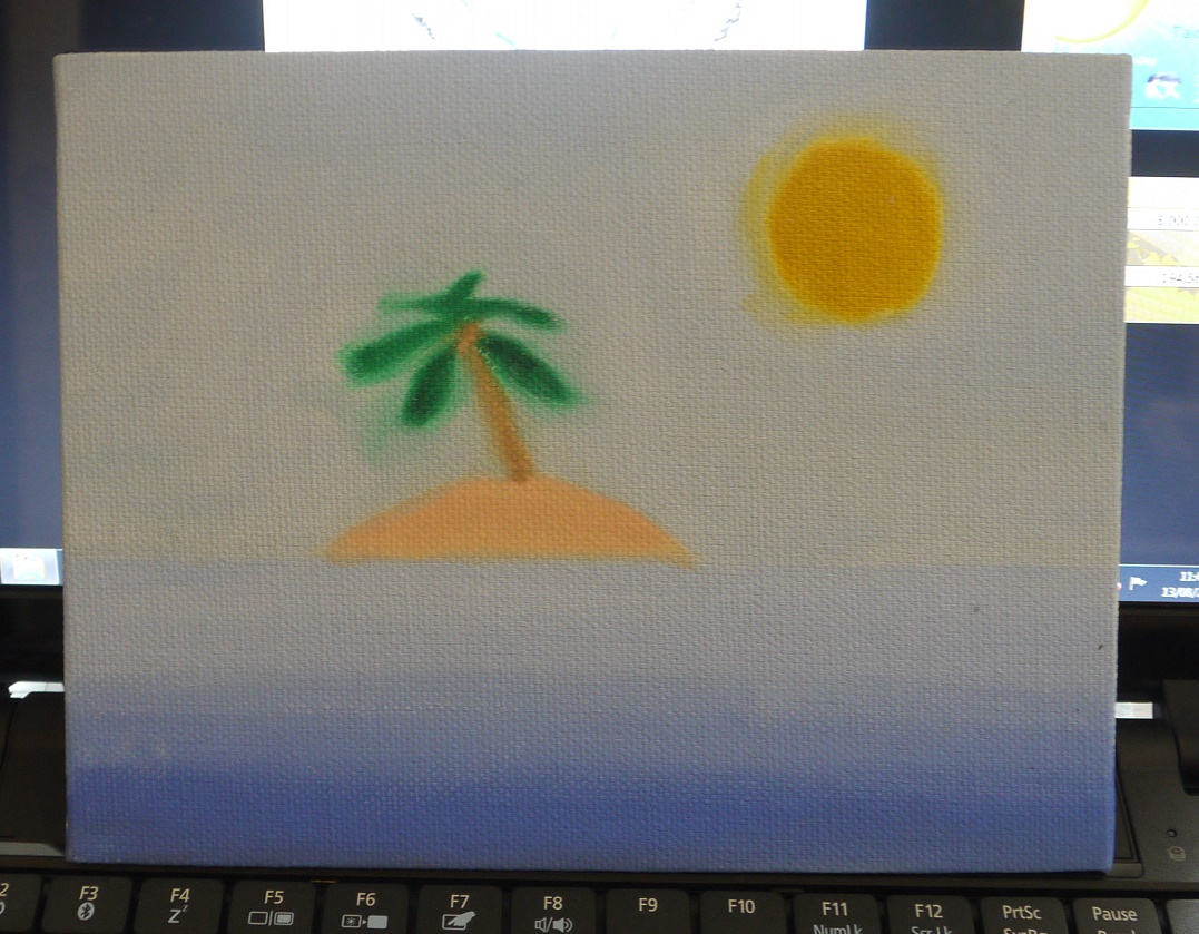My first oil-painting